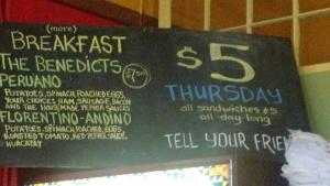 008 Café Rumba specials