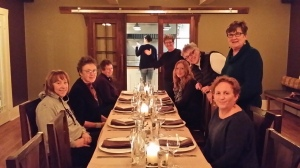 Writers at Dinner